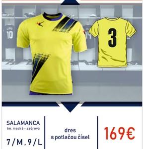 Salamanca - sada dresov