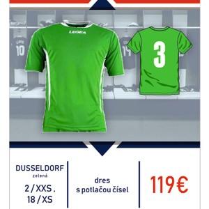 Dusseldorf - sada dresov