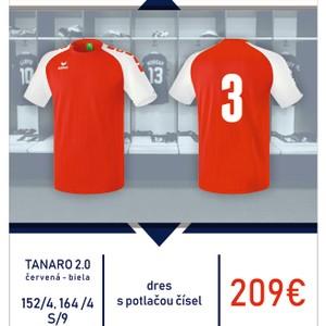 Tanaro 2.0. sada dresov