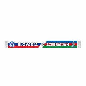 Šál Slovensko - Azerbajdžan