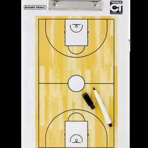 Taktická tabuľa na basketbal -  34x23 cm