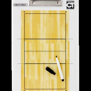 Taktická tabuľa na volejbal -  34x23 cm