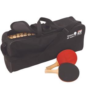 Taška na rakety Stolný tenis čierna