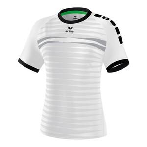 ERIMA Dámsky krátky dres FERRARA 2.0 biela čierna