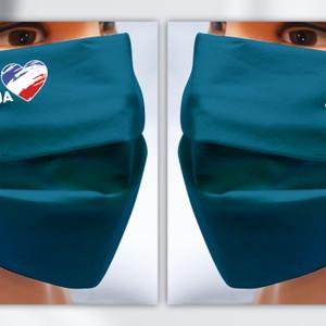 """Detské rúška pre fanúšikov futbalu s logom  """"Futbal nás spája"""""""