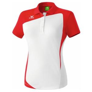 ERIMA dámska polokošeľa CLUB 1900 biela červená