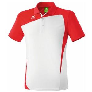 ERIMA pánska polokošeľa CLUB 1900 biela červená