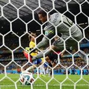 Futbalová sieť  senior  4mm 7,32 x 2,44 x 2 x 2m hexagonal