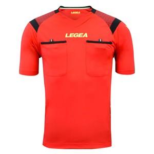 LEGEA rozhodcovský dres krátky PIREO červená
