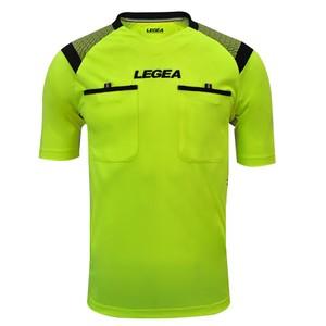 LEGEA rozhodcovský dres krátky PIREO fluo žltá