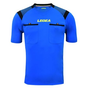 LEGEA rozhodcovský dres krátky PIREO modrá