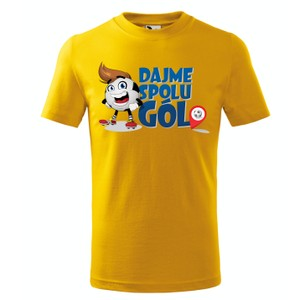 Tričko Dajme spolu gól