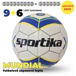 Zápasové lopty MUNDIAL 9+6 zadarmo