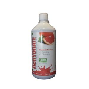 Iontový nápoj RUŽOVÝ GREP 1000 ml