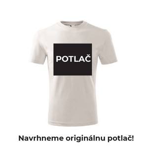 Detské tričko s originálnou POTLAČOU