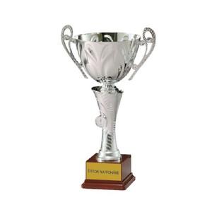 Štítok na pohár s popisom a grafikou