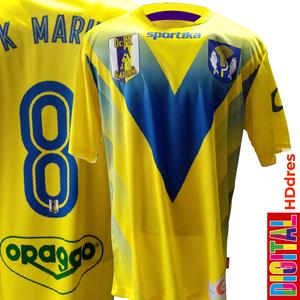 Futbalový HD dres s vlastným dizajnom