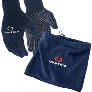 Univerzálny nákrčník s rukavicami