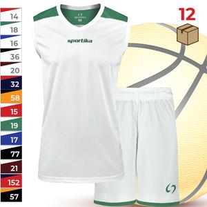 Sada 12ks basketbalových dresov s trenírkami Colorado