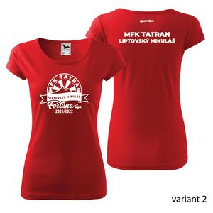 Ženské fan tričko TATRAN