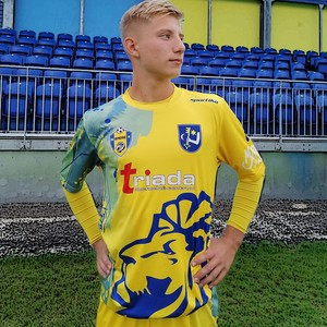 Oficiálny zápasový dres FK Humenné žltý