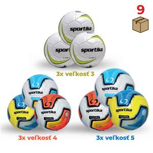 Balík futbalových lôpt 345