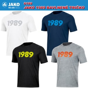JAKO 1989 TRIČKO - KRÁTKY RUKÁV