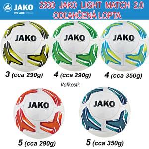 JAKO MATCH 2.0 LIGHT LOPTA