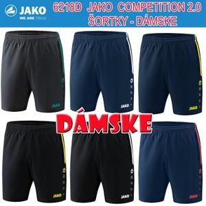 JAKO COMPETITION 2.0 ŠORTKY - DÁMSKE