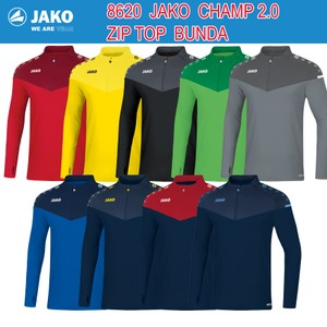 JAKO CHAMP 2.0 ZIP TOP BUNDA