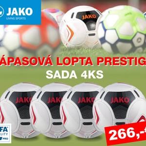 SADA ZÁPASOVÁ LOPTA - JAKO PRESTIGE - 4 ks