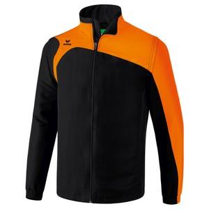 ERIMA bunda s odnímateľnými rukávmi CLUB 1900 2.0 čierna oranžová