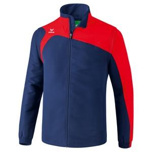 ERIMA bunda s odnímateľnými rukávmi CLUB 1900 2.0 tmavomodrá červená