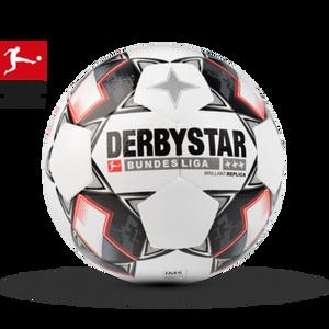 DERBYSTAR Tréningová futbalová lopta  Bundesliga Brillant Replica v. 5