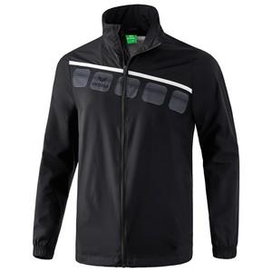 ERIMA bunda do dažďa 5-C čierna biela