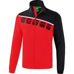 ERIMA bunda s odnímateľnými rukávmi 5-C červená čierna