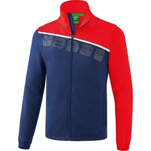 ERIMA bunda s odnímateľnými rukávmi 5-C tmavomodrá červená