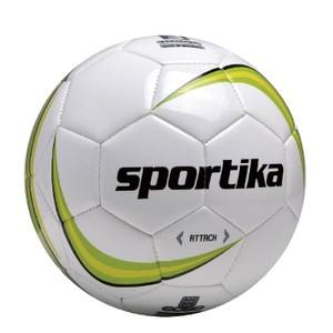 Futbalová lopta SPORTIKA ATTACK bielo zelená 3