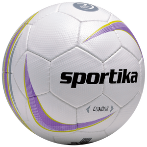 Futsalová lopta CONDOR bielo fialovo žltá 4