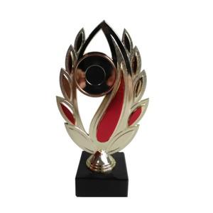 Trofej pre hasičov zlato červená 23 cm