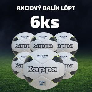 Futbalová lopta KAPPA PALLONE - 6 ks