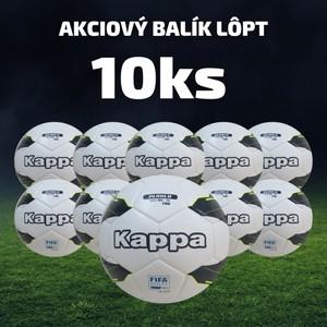 Futbalová lopta KAPPA PALLONE - 10 ks