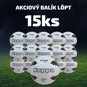 Futbalová lopta KAPPA PALLONE - 15 ks