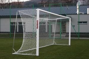 Futbalová sieť profesionálna 7,32 x 2,44 m, veľkosť oka 10 cm