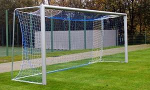 """Futbalová sieť profesionálna """"Exklusiv"""" 7,32x2,44 m, dvojfarebná"""