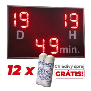 Časomiera + 12x chladivý sprej GRÁTIS