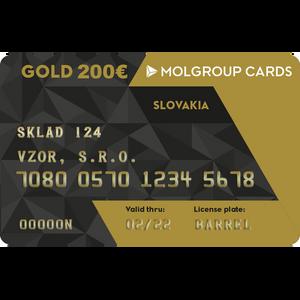 Kredit Slovnaft 200€