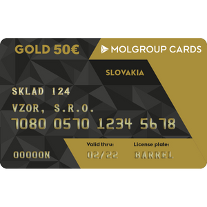Kredit Slovnaft 50€