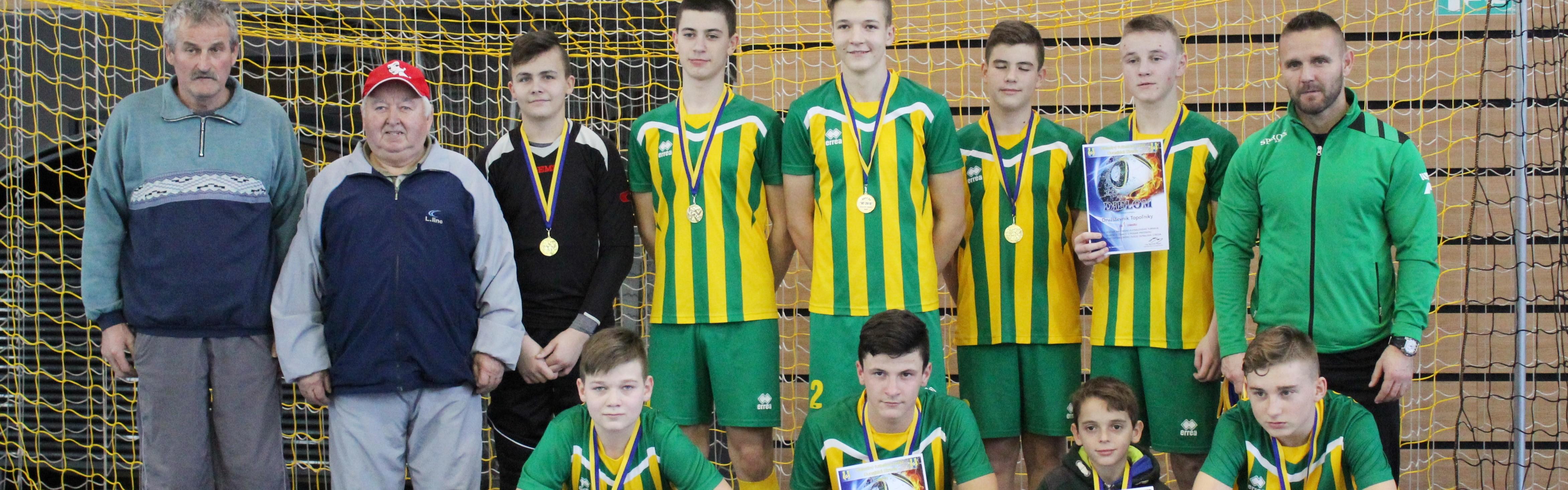 Družstevník Topoľníky suverénom na turnaji U15