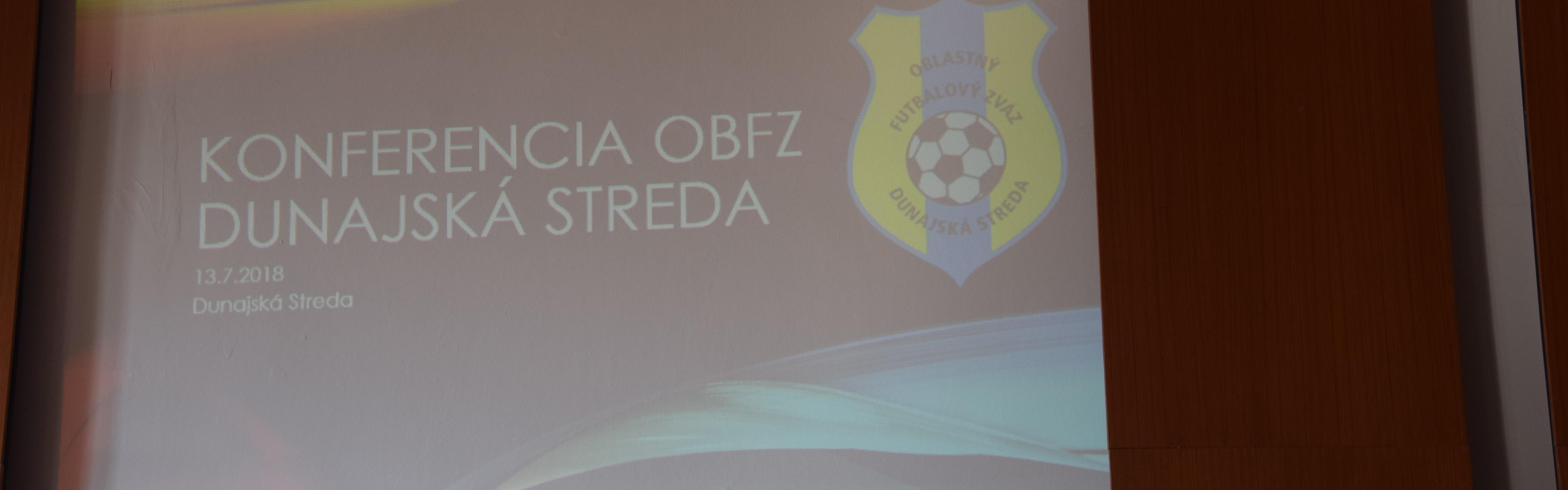 Konferencia ObFZ Dunajská Streda - fotogaleria